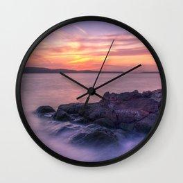 Portencross Bay Wall Clock