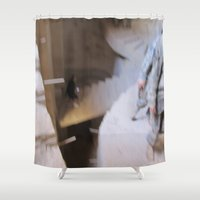 escher Shower Curtains featuring Escher 2 by KMZphoto