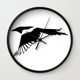 Pica Pica (magpie)  one Galery Giftshop Wall Clock