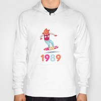 1989 Hoodies featuring 1989 by Laura Wood