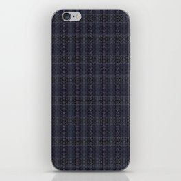 Backsplash Square Glass Spirals iPhone Skin