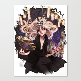 But She's Magic Canvas Print