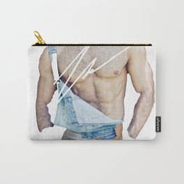 OVERALL HANDSOME BY ROBERT DALLAS Carry-All Pouch