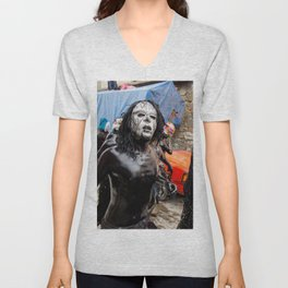 Painted young II Unisex V-Neck
