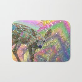 Paint with All the Colors on the Deer Bath Mat