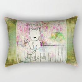 Westie Love ~ West Highland Terrier Rectangular Pillow