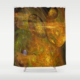 Exoplanet Nebula Shower Curtain