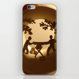 Loggers (Bûcherons) iPhone Skin