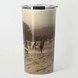 Looking at the Sea Travel Mug