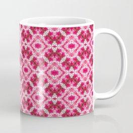 Padded Icy Pink Diamonds Coffee Mug
