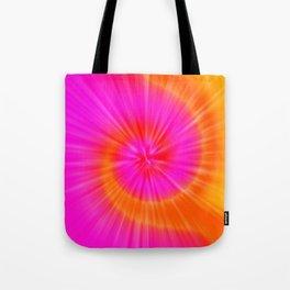 TIE DYE #1 (Fuchsias-Magentas, Reds & Oranges) Tote Bag