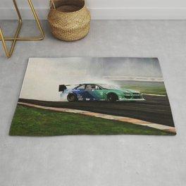 James Deane Drift Car Rug