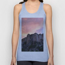Tropea In Calabria At Sunset Unisex Tank Top