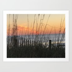 Beach Sunrise Art Print