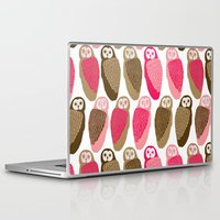 owls Laptop & iPad Skins featuring Owls by Lydia Meiying
