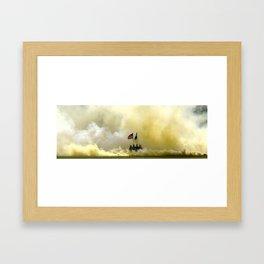 US Army Graduation - Panoramic Framed Art Print