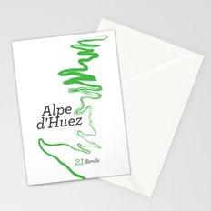 Famous Climbs: Alpe d'Huez 1, Modern Stationery Cards