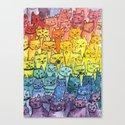 the pride cat rainbow  squad by mantrapop