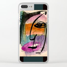 I See 23 by Kathy Morton Stanion Clear iPhone Case