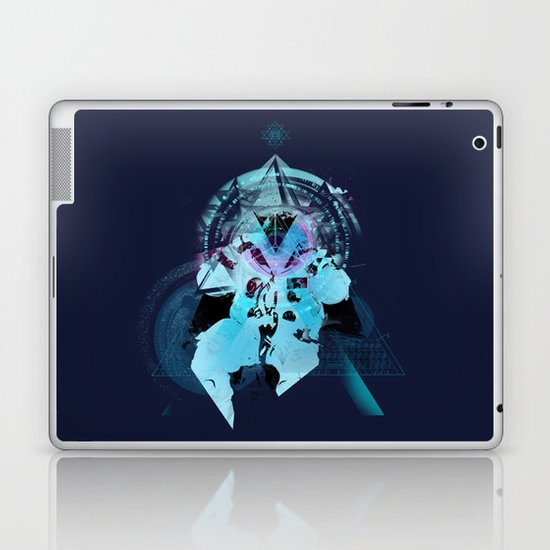 Illuminati Astronaut Laptop & iPad Skin