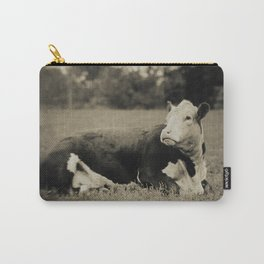 POSED IN THE PASTURE Carry-All Pouch