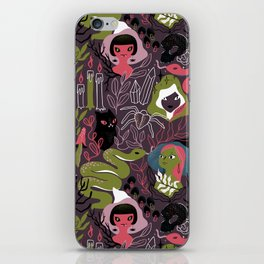 Coven. Witch sisterhood iPhone Skin