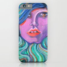 Pretty Oceanic Ombre Face iPhone 6s Slim Case