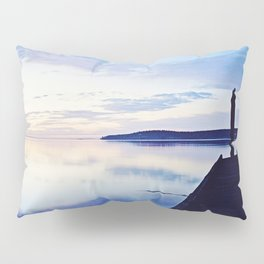 Dock at Dusk, Sequim Bay State Park Pillow Sham