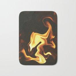 Flame Bird Bath Mat