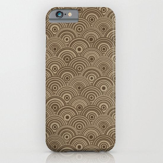 Orbis (Brown) iPhone & iPod Case