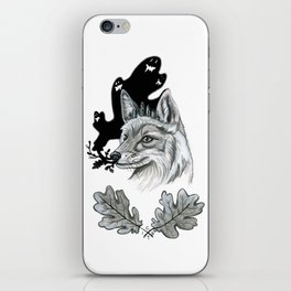 I Dreamt Of Ferns And Foliage iPhone Skin