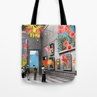Tote Bags featuring Natural History Museum by Eugenia Loli
