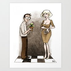 Little Shop Of Horrors Art Print
