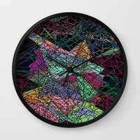 maps Wall Clocks featuring Maps by Hipsterdirtbag