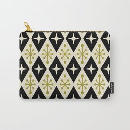 Mid Century Modern Atomic Triangle Pattern 123 Carry-All Pouch