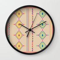 ethnic Wall Clocks featuring Ethnic by ShivaR