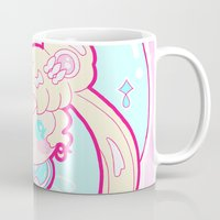 sailormoon Mugs featuring Marshmallow Sailormoon by Candy Castle