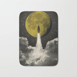 Start to the Moon Bath Mat