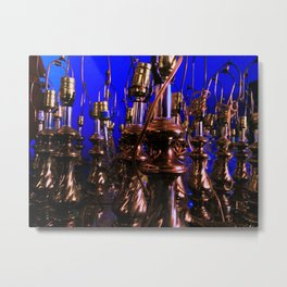 the uninspired  Metal Print