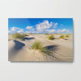 Landscape in the dunes of Amrum Metal Print