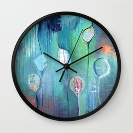 cocoon/seeds of hope Wall Clock