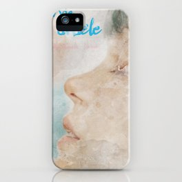 La vie d'Adele, movie poster - chapter two - alternative playbill iPhone Case