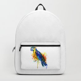 Parrot Watercolor Backpack