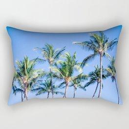 Palms in Living Harmony Rectangular Pillow