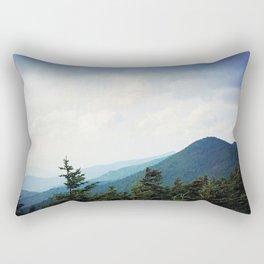 Atop Mt Mitchell Rectangular Pillow
