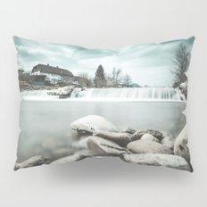 Waterfall on Sora river, Medvode Pillow Sham