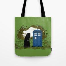 Curious Faceless Spirit Tote Bag