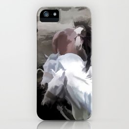 Breaking Free  -  Wild Horses iPhone Case