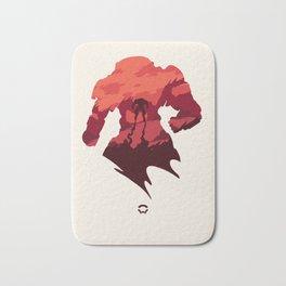 Javelin Red Bath Mat