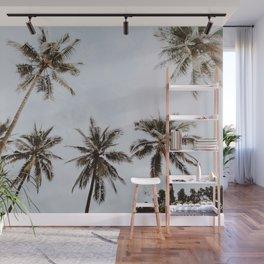palm trees xiv / chiang mai, thailand Wall Mural